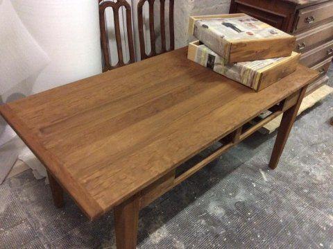 laccatura tavolo in legno