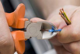 cutting a wire