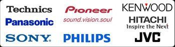 AV sales - Twickenham, Greater London - Thames Audio Video - Technics, pioneer, kenwood, Panasonic, Hitachi, Sony, Philips and JVC logo