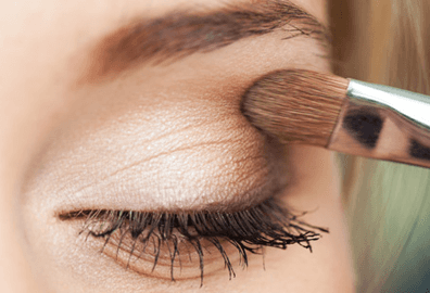 Lash and brow tinting and shaping