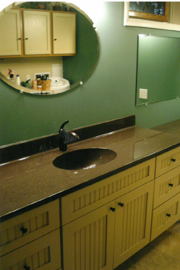 View of the bathroom after remodeling by experts in Wisconsin Rapids, WI