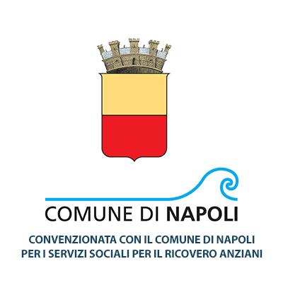 Convenzionata con il Comune di Napoli per i servizi sociali per il ricovero anziani