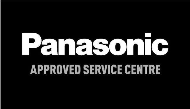 Panasonic SONY logos