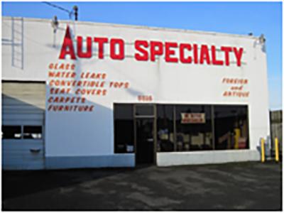 Home Page Auto Specialty Inc Tacoma Wa