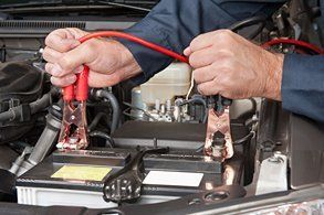 car battery inspection