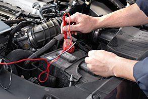 diagnosing car battery