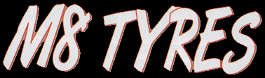 M8 TYRES logo