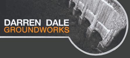 Darren Dale Groundworks logo