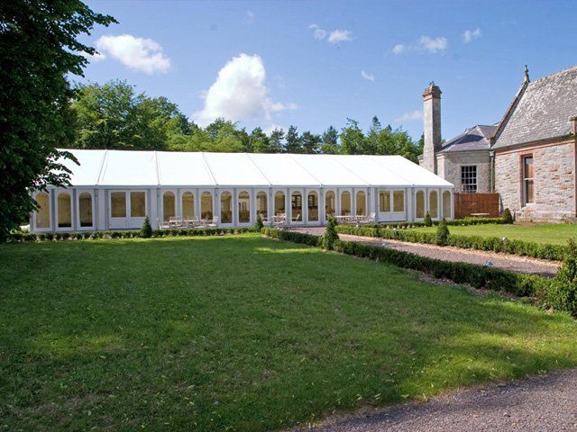 12 meter marquee