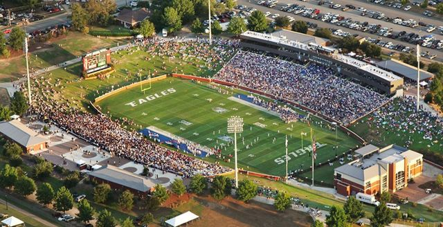 Eagles stadium in statesboro