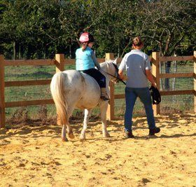 Horse riding lessons - Comrie, Dunfermline - Tapitlaw Riding School - Horse riding instructors
