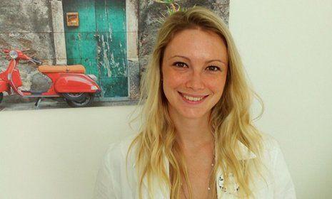 La Dott.ssa Alessandra Cozzi sorridente
