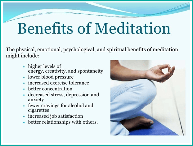 the benefit of meditation