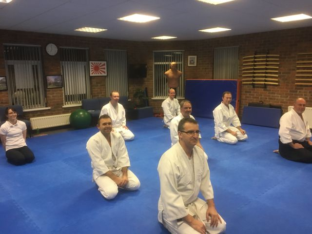 Aikido group lessons for adults