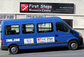 First Steps Womens Centre Minibus