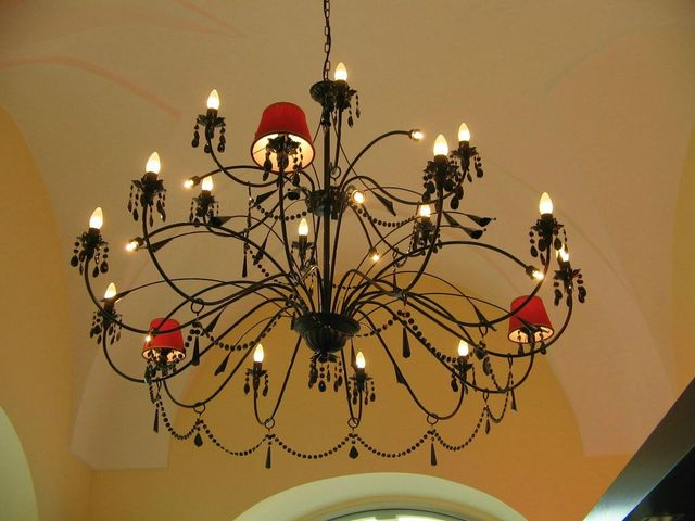 Produzione lampadari alessano le arcasud