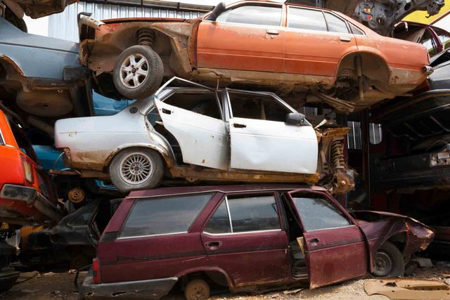 pile of cars