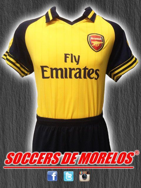 Uniforme Arsenal Visita 2017