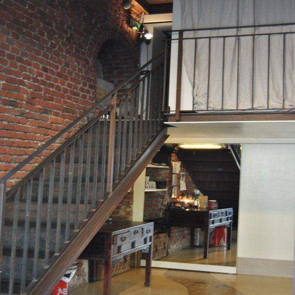 rampa di scale con sottoscala