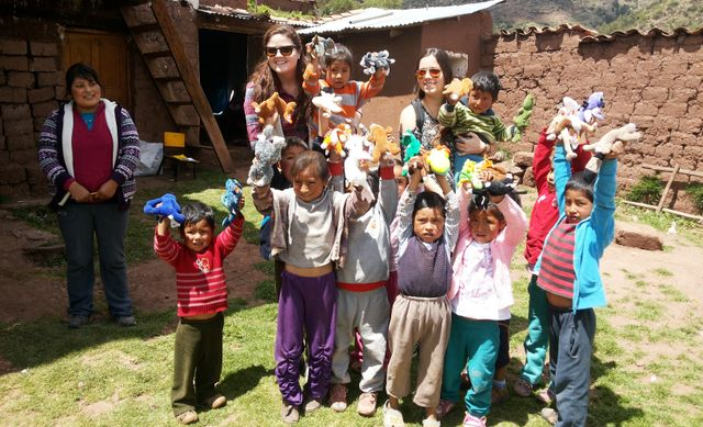 Delivering Gifts at a Kindergarden