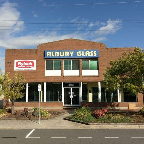 Our store where we sell windows in Albury