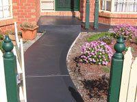 Concrete pathway service