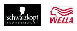 schwarzkopf and wella logos