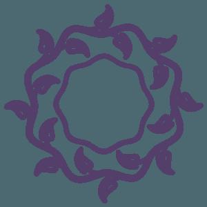 corona funeraria  - icona