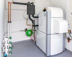 Oil boiler installations