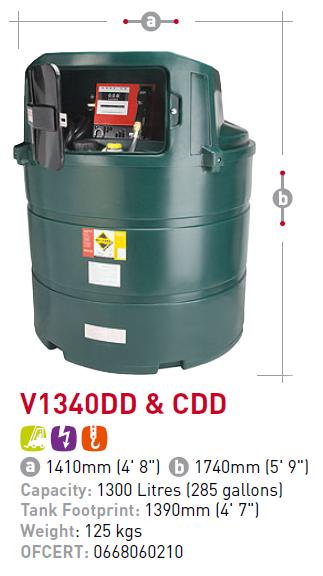 Oil tank V1340DD