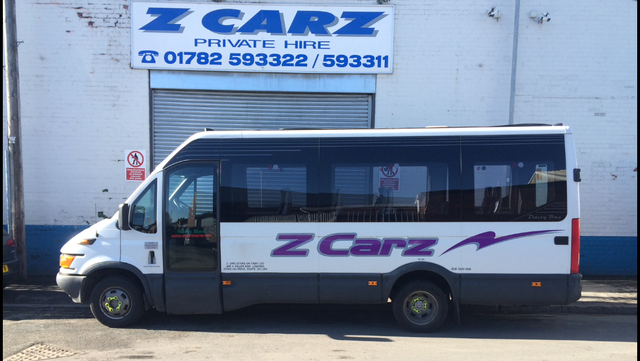 One of our larger minibuses