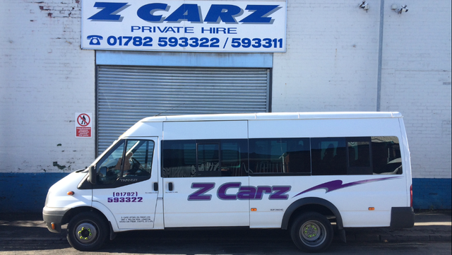 One of our minibuses