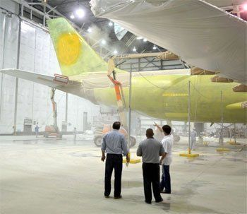 News | BBJ Aircraft Painting | Dean Baldwin Painting | Peru