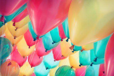 dei palloncini colorati