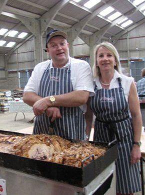 Farm reared pigs - Norfolk, England - Lilwalls Hog Roasts - Hog Roast