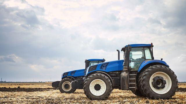macchine agricole nel lavoro