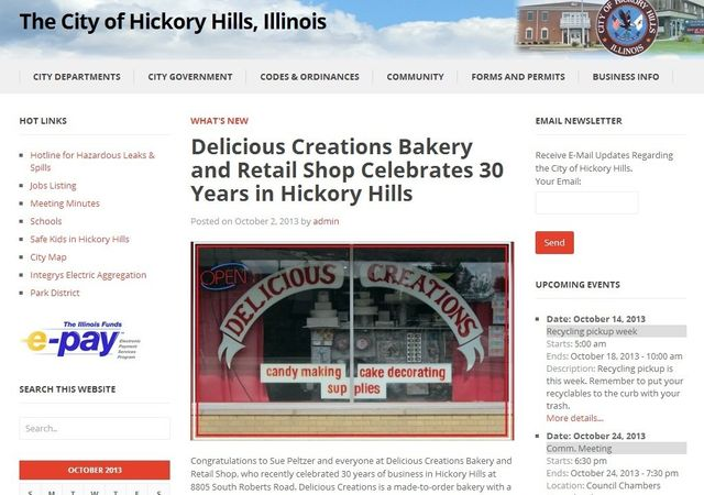 30th Anniversary Celebration | Delicious Creations near Chicago in Hickory Hills, IL
