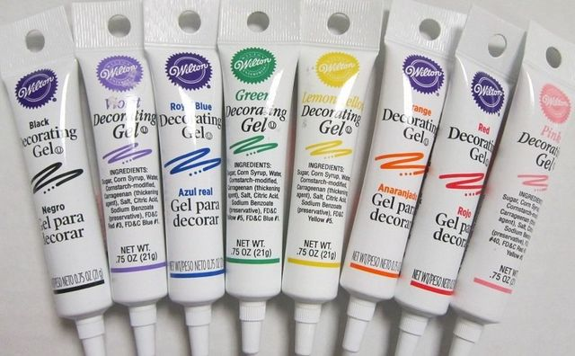 White Cake Decorating Gel : Delicious Creations Cake Making Supplies & Cake ...