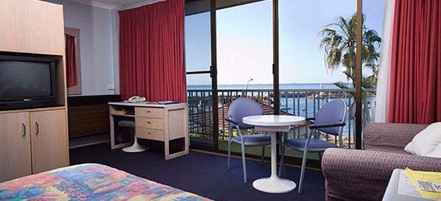 boat harbour motel room