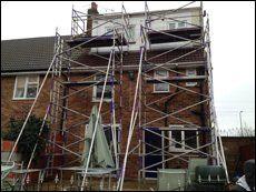 scaffolding for aluminium towers