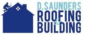 D. Saunders Roofing and Building Company Logo