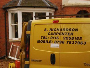 Local carpenters - Wigston, Leicestershire - S Richardson - Van