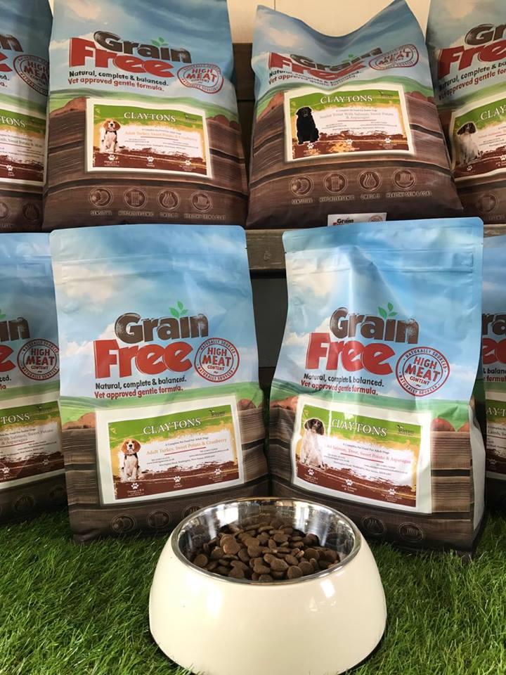 Grain Free claytons dog food