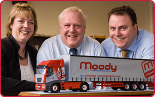 The management team at Moody Logistics & Storage.