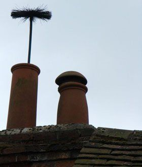 Chimney sweeps - St Asaph, Denbighshire - Jimmy Gilmore Chimney Sweep - Chimney Pot
