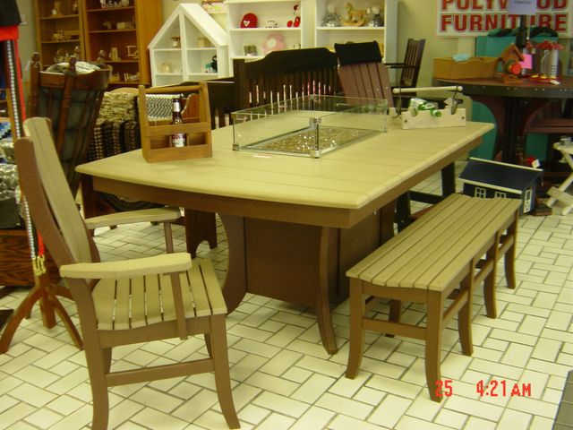 Polywood Patio Furniture Set Amish Shed Niagara Fall Ny