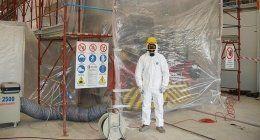 bonifica amianto, smantellamento strutture amianto, rimozione strutture in amianto