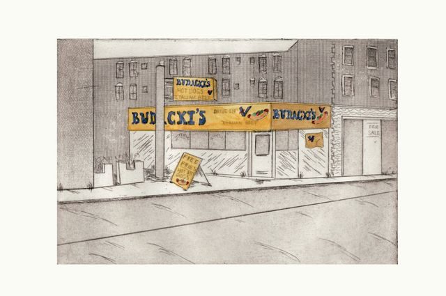 Budacki's Hot Dogs, 2006 Price $100 Unframed