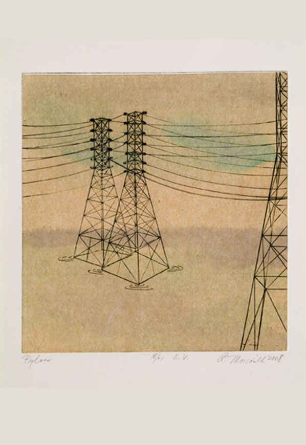 Pylons I Meadowlands, 2008 Price $75.00 Unframed