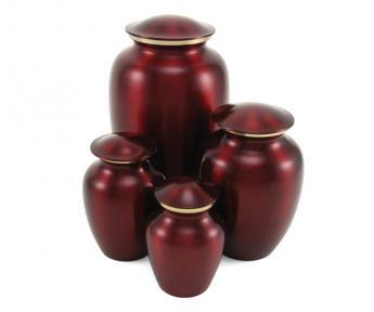 Classic Pet Crimson Urn